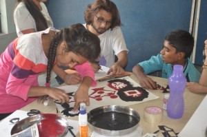 Craft making in process_Worshop with NID students_November 2015.3 (1)